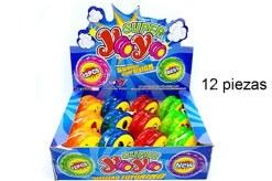 Yoyo de luz con emojis 12 piezas- Juegos y juguetes