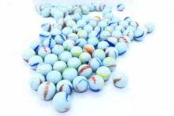 Canicas Blancas 16 mm 100 piezas - juegos y juguetes