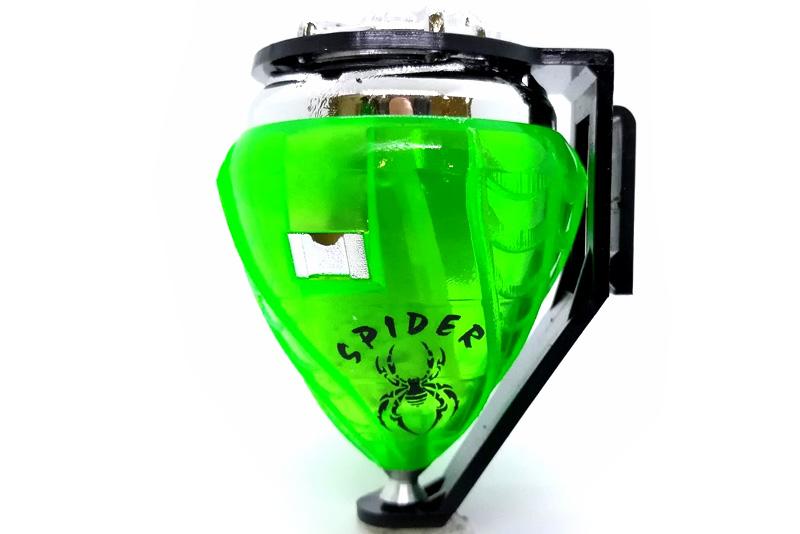 Trompo Spider Cromo Profesional – Juegos y juguetes de mayoreo