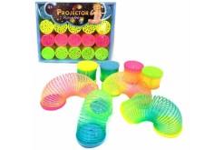 Slinky-Projector-Rainbow-Resorte-de-Luz-caja-con-20-piezas-JS52470