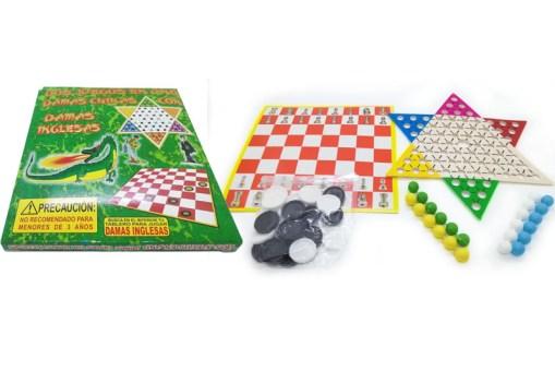 Damas Chinas y Damas Inglesas 2 en 1 - Juegos y Juguetes