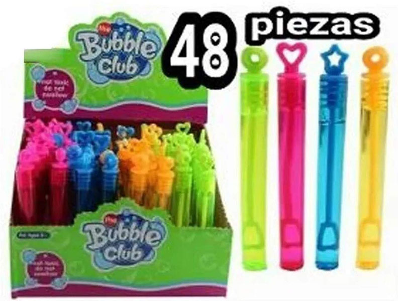Burbujas Club De Gel Paquete De 48 Piezas para Recuerdos y Fiestas