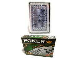 Cartas Poker con 54 Naipes de plástico Resistentes al Agua Caja con 12