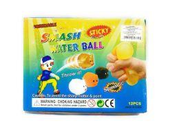 Smash water Ball Ojos pegajosos 12 piezas de mayoreo