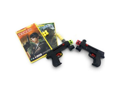Pistola Bullets Planilla Con 20 Piezas para fiestas