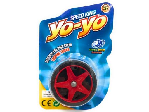 Yoyo Speed King de llanta 5 cm con cuerda incluida