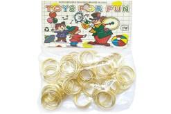 juguetes para fiestas, Anillos matrimoniales 100 piezas - Wiwi fiestas de mayoreo