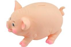 juguetes Cerdo Grande alcancía de plastisol con tapa - juguetes de mayoreoespeciales