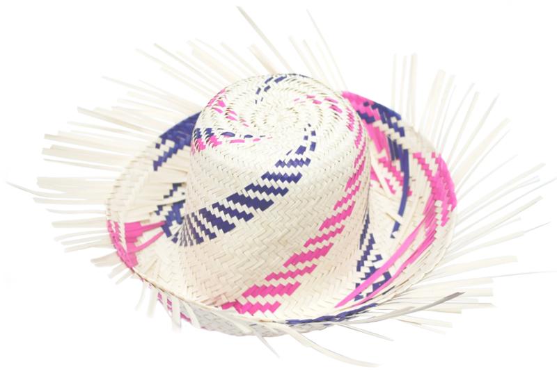 8eed212cb546f Sombrero costeño de palma - Fiestas y entretenimiento - Wiwi