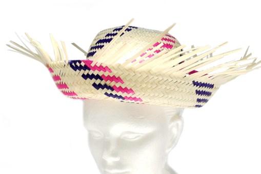 Sombrero costeño de palma - Wiwi Fiestas de mayoreo