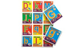 Lotería Didáctica Jumbo ABC Bilingüe - Wiwi Loterías de Mayoreo