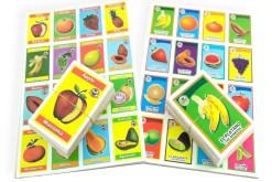 Lotería Didáctica Las Frutas - Wiwi Loterías de Mayoreo
