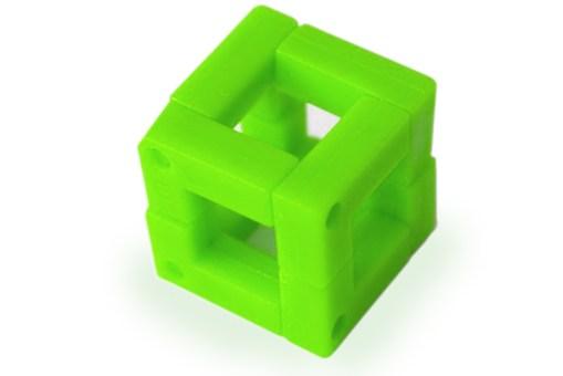 Agrega a tu carrito de compras desde 1 piezas al precio individual o paquetes de 6 al mejor precio de mayoreo de estos rompecabezas tridimensionales 25 mm con 8 pzs, juguetes educativos - mini arma tu cubo
