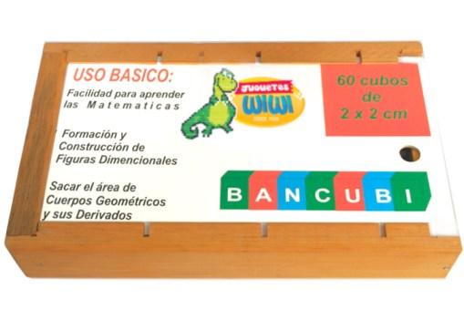 Cajón Bancubi de madera - Wiwi Juegos de Mayoreo, juguetes de habilidad y destreza