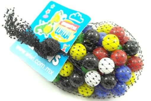 Canicas Ponche # 00 con 60 piezas-Wiwi juegos de mayoreo