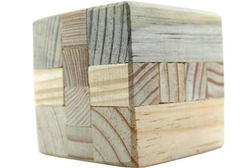 Rompecabezas 3D Forma de Cubo de Madera Wiwi Juegos de mayoreo.