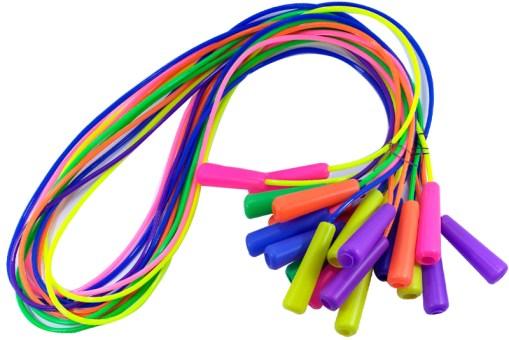 Cuerda para saltar Fluorescente 12 piezas Wiwi Tienda de Mayoreo