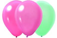 Globos # 9 látex Neón 100 piezas - Wiwi globos para fiestas