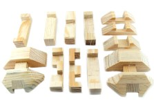 Rompecabezas 3D Domo hecho de Madera -Wiwi Juegos de mayoreo