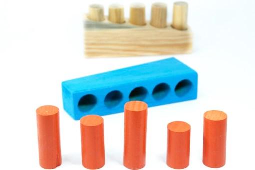 juguetes didácticos, Juego Sensorial Nivel chico 16 cm - Wiwi juegos de mayoreo