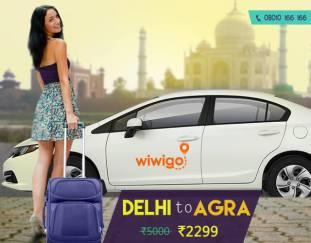 Agra to Delhi car rental rates wiwigo