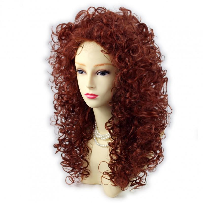 Wiwigs Wild Untamed Long Curly Full Wig Fox Red Ladies