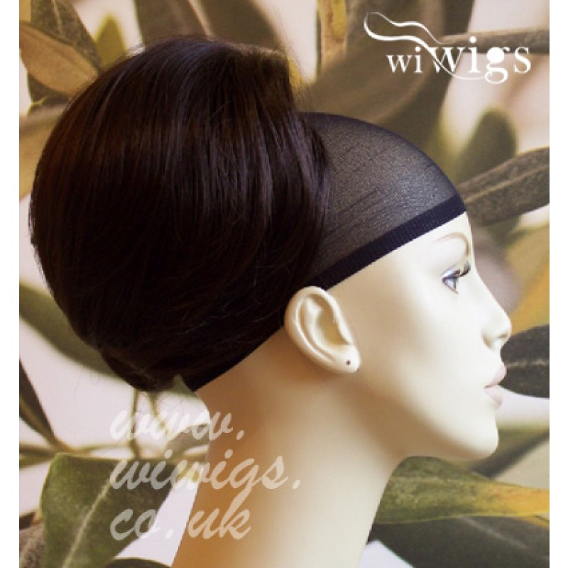 Wiwigs New Dark Brown Beehive Bun Hair Piece