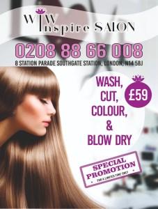 WIW Inspire Salon Promotion
