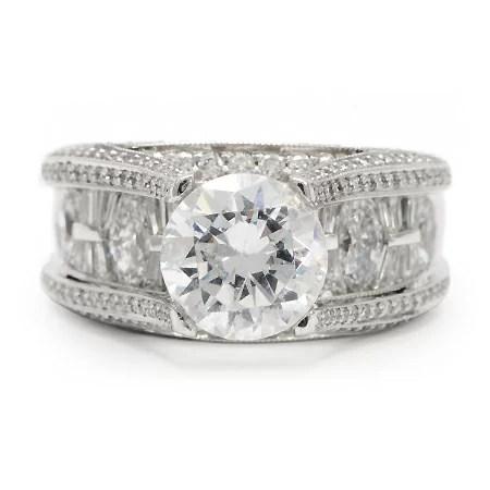 JB Star Engagement Ring 364974 Wedding Jewelry Wixon