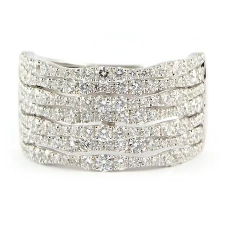 Wide Band Diamond Anniversary Ring Minneapolis MN