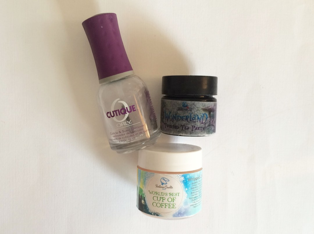March Empties Nails and Body   The Rebel Planner