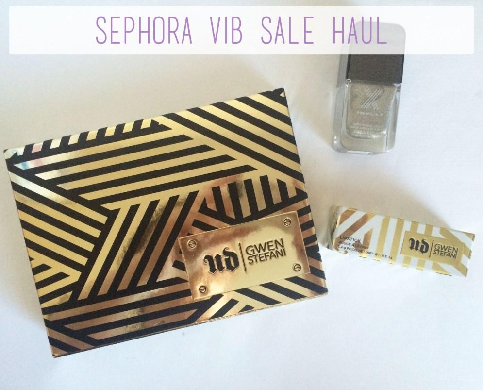Sephora VIB Sale Haul Overview | The Rebel Planner