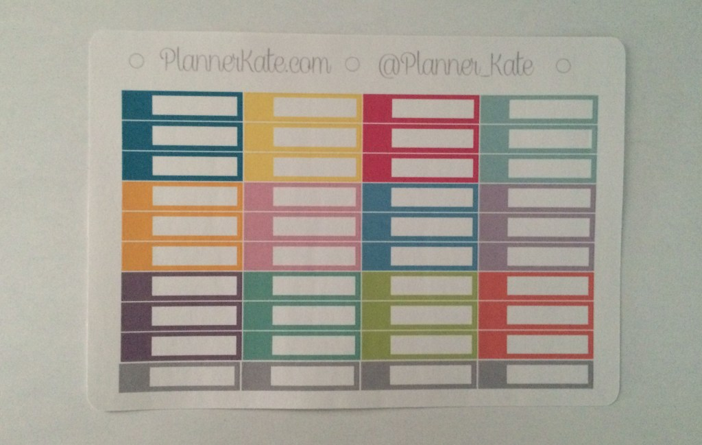Planner Kate Appointment Labels | The Rebel Planner