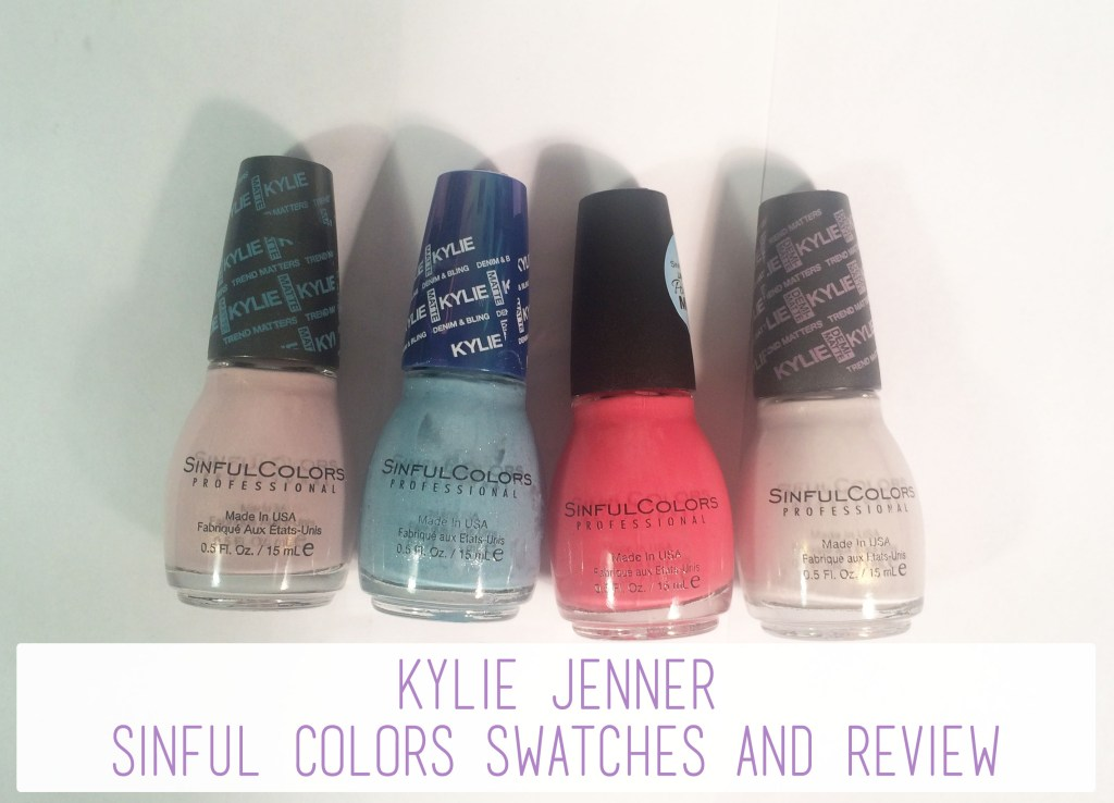 Kylie Jenner Sinful Colors Swatches and Review   The Rebel Planner