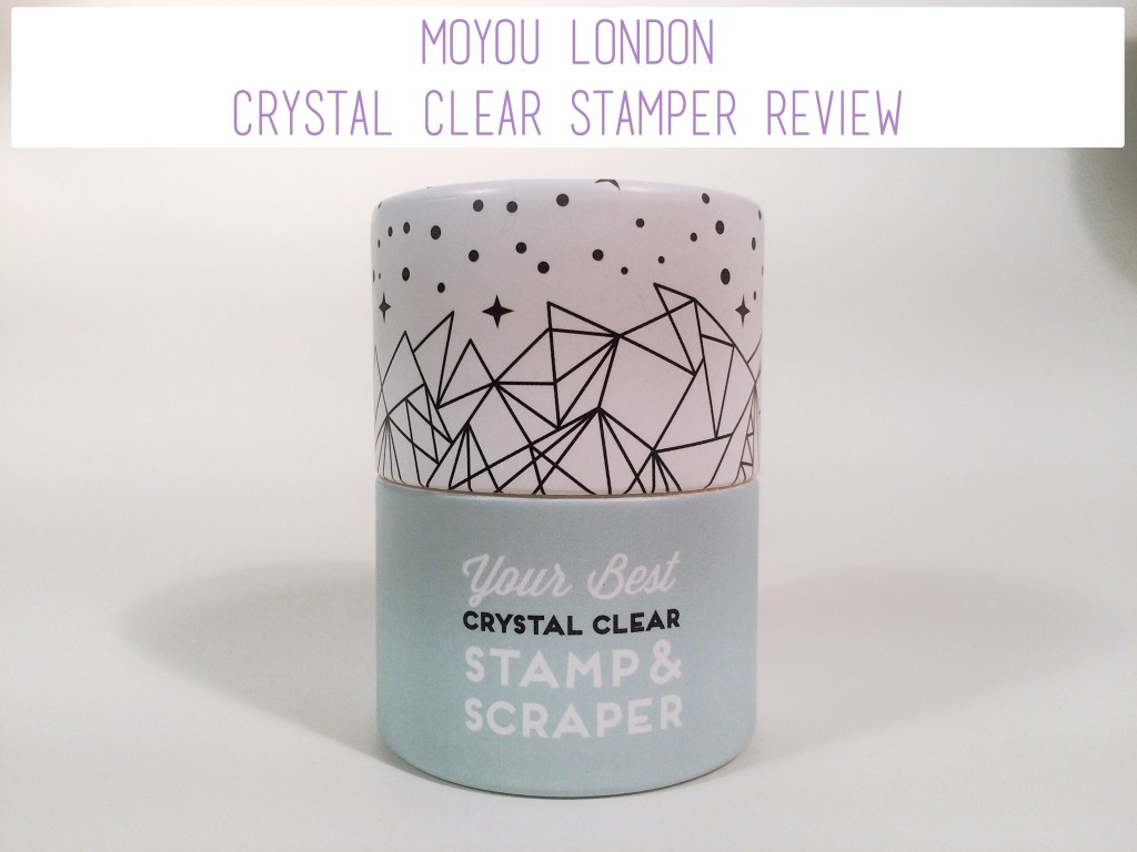 MoYou London Crystal Clear Stamper Review | The Rebel Planner