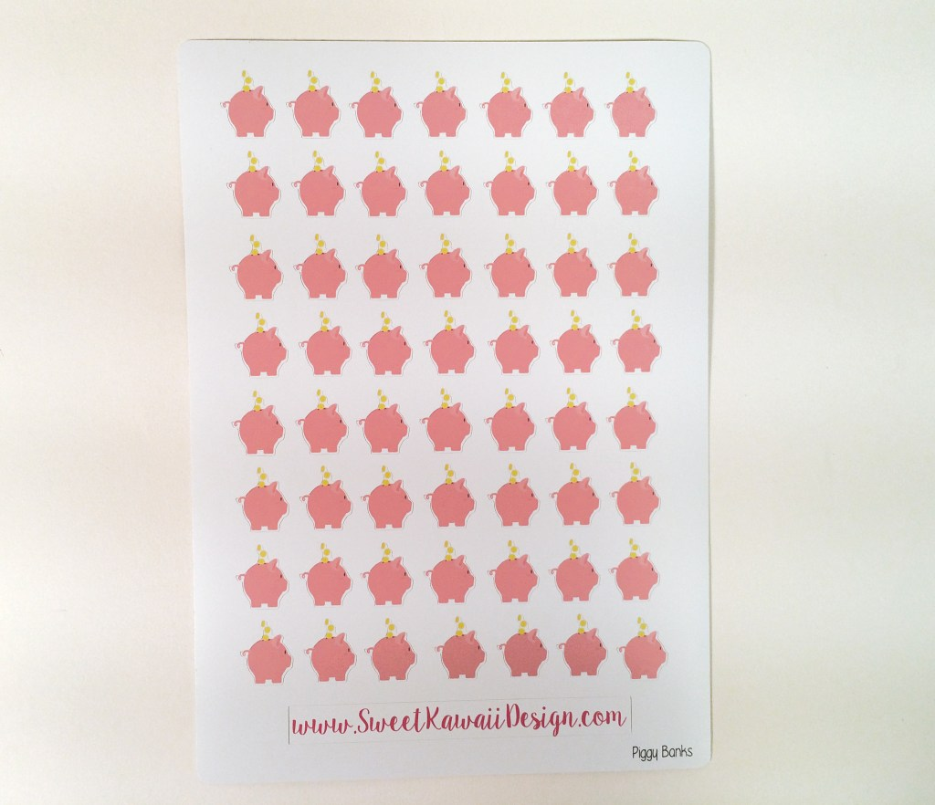 August Sweet Kawaii Design Haul | The Rebel Planner