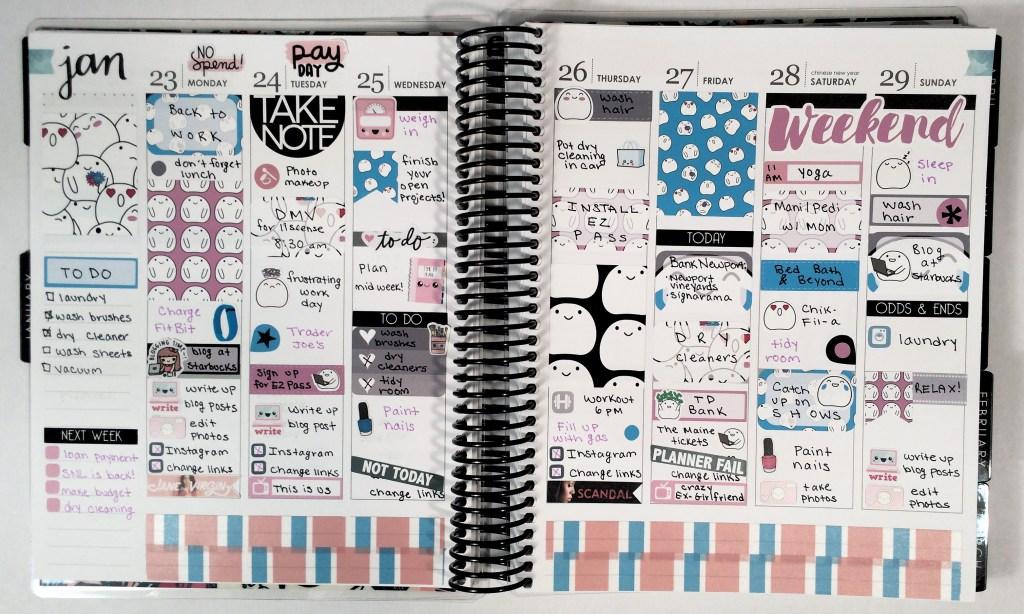 A Week in My Erin Condren | The Rebel Planner