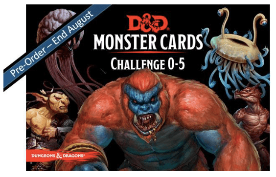 Preview Update: D&D Monster Cards by GF9 - Wizard's Laboratory