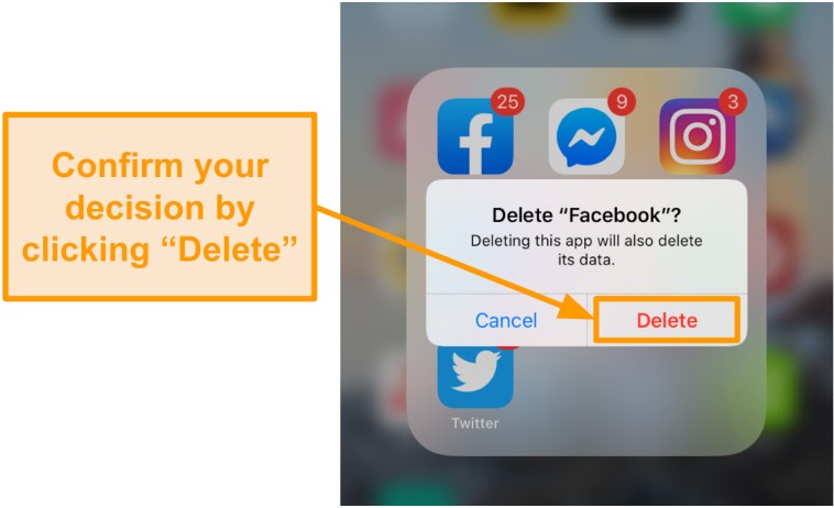 If you send a friend request on facebook, then deactivate ...