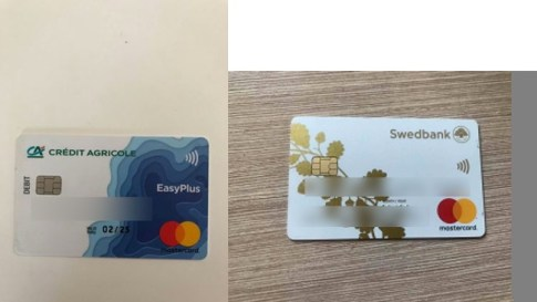 User ID and Credit Card photo