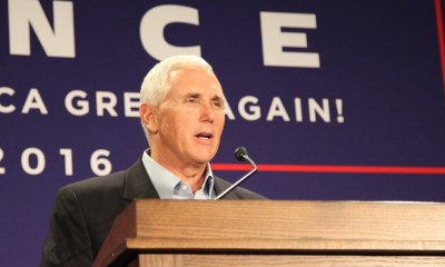 Mike Pence was at UW-La Crosse for a rally last summer