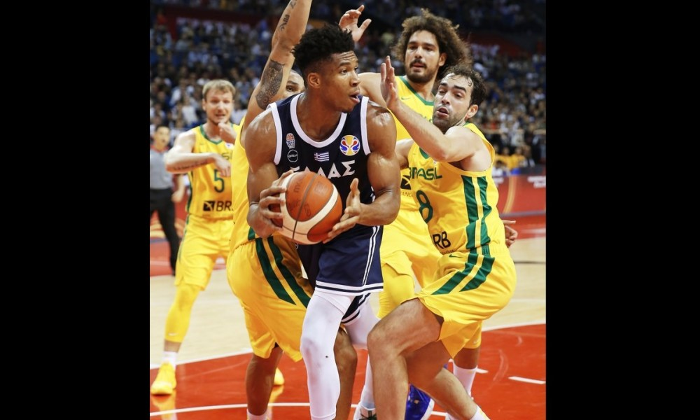 the best attitude 797fb c67ec MVP vs. USA: Americans to face Antetokounmpo at World Cup ...