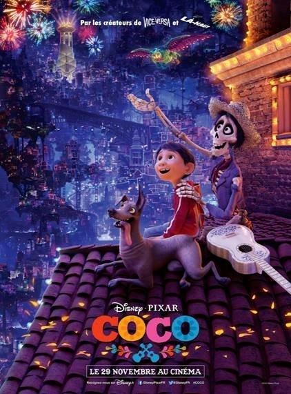 Affiche française de COCO