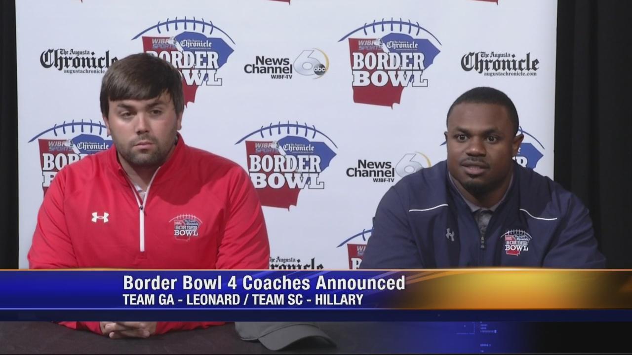 Aquinas's Leonard & Strom Thurmond's Hillary Named Border Bowl 4 Head Coaches