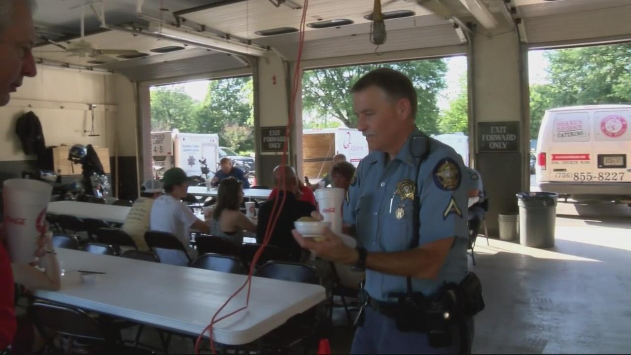 Abilene Baptist Church serves food to Columbia County Sheriff's Office_151471