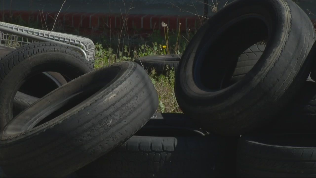 Cleanup plan leaves out picking up tire piles