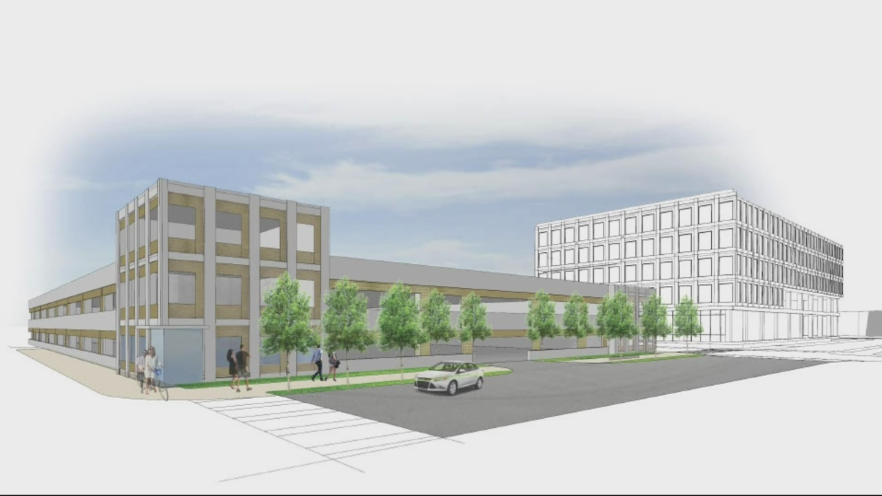 Renderings depict new Cyber Innovation and Training Center