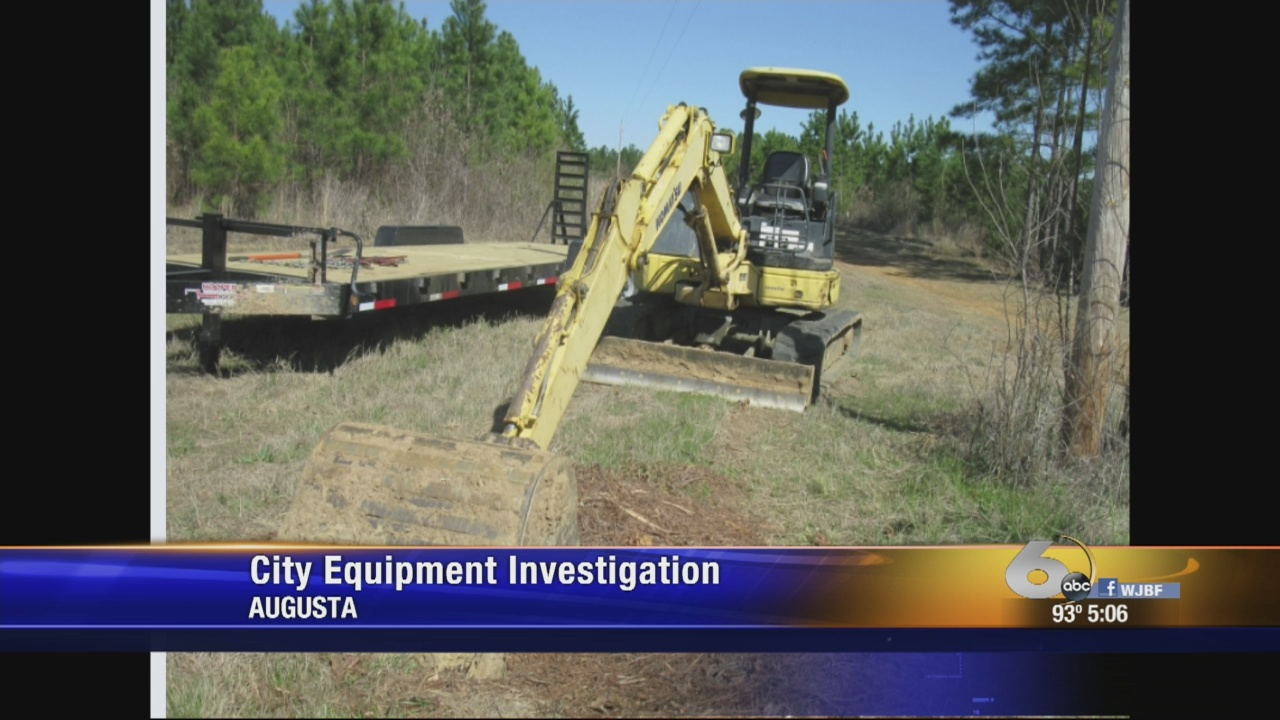 Commissioner wants GBI to investigate city equipment use