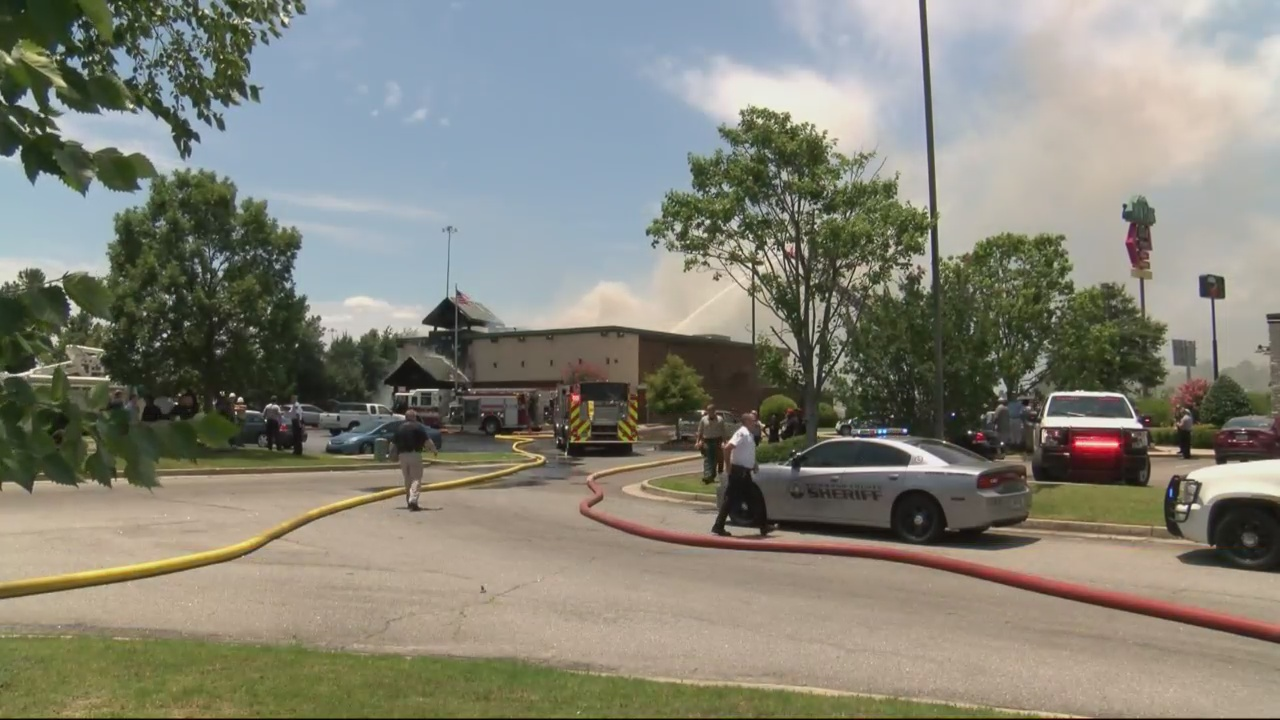 Local restaurant goes up in flames