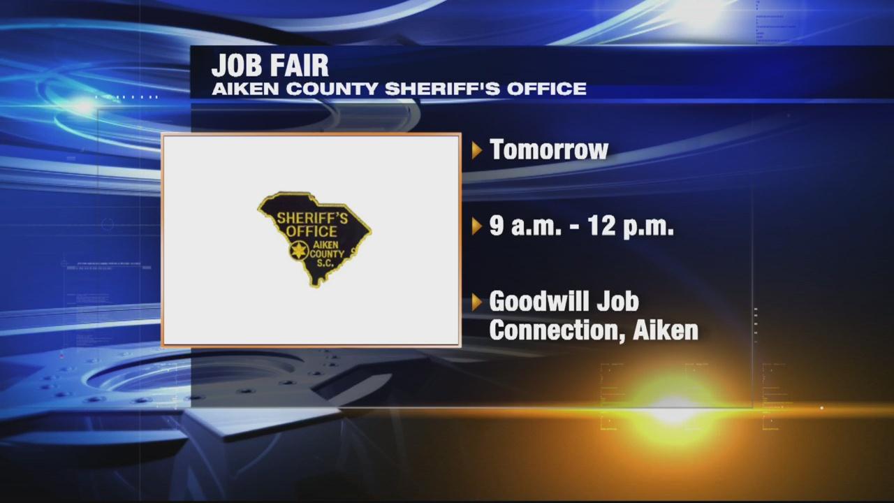 Sheriff's office Job fair